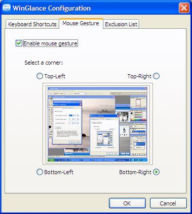 WinGlance configuration screen 2